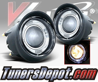 WINJET® OEM Style Fog Light Kit (Clear) - 03-06 Infiniti FX45 FX-45 (OEM Replacement Only)