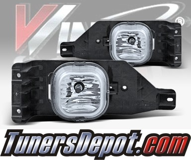 WINJET® OEM Style Fog Light Kit (Clear) - 05-07 Ford F-250 F250 (OEM Replacement Only)