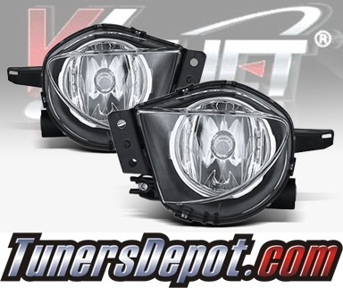 WINJET® OEM Style Fog Light Kit (Clear) - 06-08 BMW 328i 4dr E90 (OEM Replacement Only)