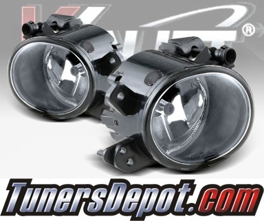WINJET® OEM Style Fog Light Kit (Clear) - 06-09 Mercedes Benz ML500 W164 M-Class SUV (OEM Replacement Only)