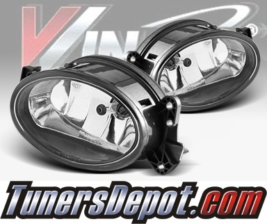WINJET® OEM Style Fog Light Kit (Clear) - 07-09 Mercedes Benz E350 E-Class W211 (OEM Replacement Only)