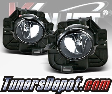 WINJET® OEM Style Fog Light Kit (Clear) - 07-09 Nissan Altima 4dr. (OEM Replacement Only)
