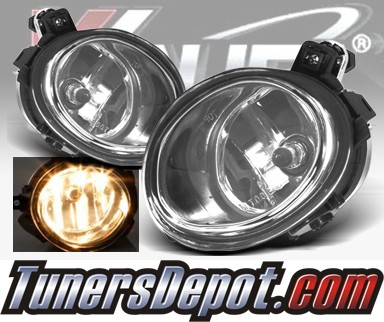 WINJET® OEM Style Fog Light Kit (Smoke) - 02-05 BMW 325ci 4dr Sedan 3 Series E46 Facelift (OEM Replacement Only)