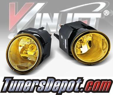 WINJET® OEM Style Fog Light Kit (Yellow)   01 04 Nissan Frontier