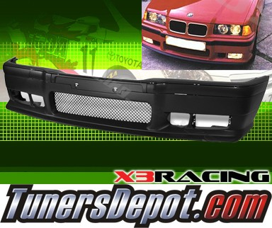 X3® M3 Style Front Bumper - 94-95 BMW 325ic 2dr Convertible E36