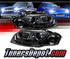 Sonar® DRL LED Projector Headlights (Smoke) - 06-08 Audi A4