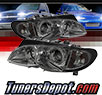 Sonar® Halo Projector Headlights (Smoke) - 02-05 BMW 330xi 4dr E46
