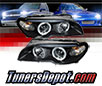 Sonar® Halo Projector Headlights (Black) - 04-06 BMW 325i 2dr E46 (Incl. Convertible)