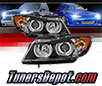 Sonar® Light Bar DRL Projector Headlights (Black) - 07-08 BMW 335xi 4dr E90