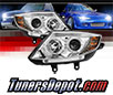 Sonar® Halo Projector Headlights (Chrome) - 03-08 BMW Z4 E85 (w⁄ HID Only)