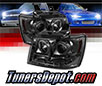 Sonar® CCFL Halo Projector Headlights (Smoke) - 07-14 Chevy Tahoe