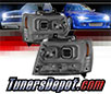 Sonar® Light Bar DRL Projector Headlights (Smoke) - 07-14 Chevy Suburban (Version 2)
