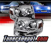 Sonar® Light Bar DRL Projector Headlights (Chrome) - 07-13 Ford Expedition