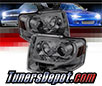 Sonar® Light Bar DRL Projector Headlights (Smoke) - 07-13 Ford Expedition