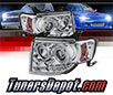 Sonar® LED Halo Projector Headlights (Chrome) - 08-12 Ford Escape