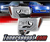 Sonar® Light Bar DRL Projector Headlights (Chrome) - 09-14 Ford F150 F-150
