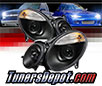 Sonar® Projector Headlights (Black) - 03-06 Mercedes Benz E500 4dr/Wagon W211