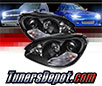 Sonar® Projector Headlights (Black) - 00-06 Mercedes Benz S500 W220