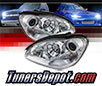 Sonar® Projector Headlights (Chrome) - 00-06 Mercedes Benz S500 W220 (w⁄ HID Only)