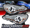 Sonar® DRL LED Projector Headlights (Chrome) - 13-18 Subaru BRZ BR-Z