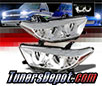 Sonar® Light Bar DRL Projector Headlights (Chrome) -  11-13 Toyota Highlander