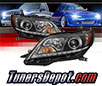 Sonar® DRL LED Projector Headlights (Black) - 15-17 Toyota Sienna SE/XE