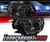Sonar® Light Bar DRL Projector Headlights (Smoke) - 12-15 Toyota Tacoma