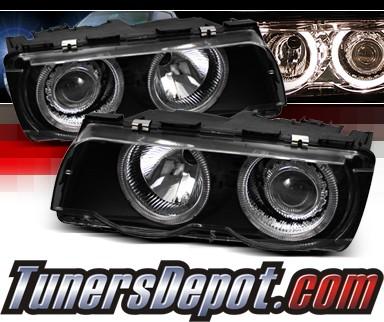 bmw 750il e38. Sonar Halo Projector Headlights (Black) - 99-01 BMW 750iL E38. Sonar Halo Projector Headlights (Black) - 99-01 BMW 750iL E38. SKU#: YD-PRO-BMWE3899-HL-BK