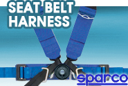 Sparco® - Seat Belt Harness