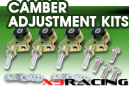 X3 Products® - Camber Adjustment Kits