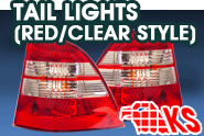 KS Lighting® - Tail Lights (Red|Clear Style)