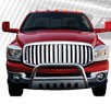 TD® Front WIDE Vertical Style Grille (Chrome) - 06-08 Dodge Ram Pickup
