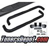 TD Running Board Side Step Bars - 06-12 Jeep Commander