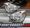 TD® Crystal Headlights (Chrome) - 02-07 Buick Rendezvous