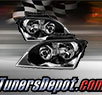 TD® Crystal Headlights (Black) - 04-06 Chrysler Pacifica