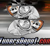 TD® Crystal Headlights (Chrome) - 05-07 Chrysler Town & Country (w/ Long Wheel Base Model)
