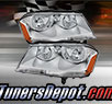TD® Crystal Headlights (Chrome) - 08-14 Dodge Avenger