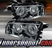 TD® Crystal Headlights (Smoke) - 06-10 Dodge Charger