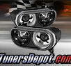 TD® Projector Headlights (Black) - 08-14 Dodge Challenger (with HID Only)