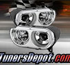 TD® Projector Headlights (Chrome) - 08-14 Dodge Challenger (with HID Only)