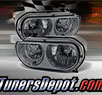 TD® Crystal Headlights (Smoke) - 08-14 Dodge Challenger