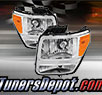 TD® Crystal Headlights (Chrome) - 07-11 Dodge Nitro