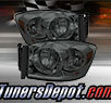 TD® Crystal Headlights (Smoke) - 06-09 Dodge Ram Pickup 2500/3500