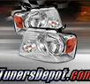 TD® Crystal Headlights (Chrome) - 04-08 Ford F-150 F150