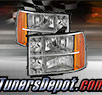 TD® Crystal Headlights (Chrome) - 07-13 GMC Sierra