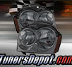 TD® Crystal Headlights (Smoke) - 05-07 Jeep Grand Cherokee