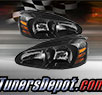 TD® Crystal Headlights (Black) - 04-08 Ponitac Grand Prix