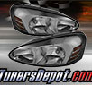 TD® Crystal Headlights (Smoke) - 04-08 Ponitac Grand Prix