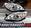 TD® Crystal Headlights (Chrome) - 08-11 Subaru Outback Sport