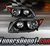 TD® Crystal Headlights (Black) - 05-07 Scion tC